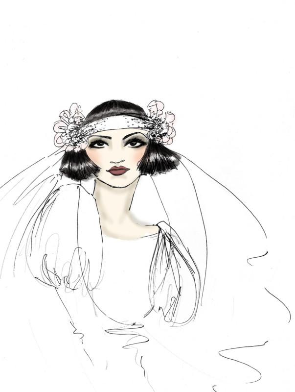 SGR Vintage 1920s Hair & Makeup Design