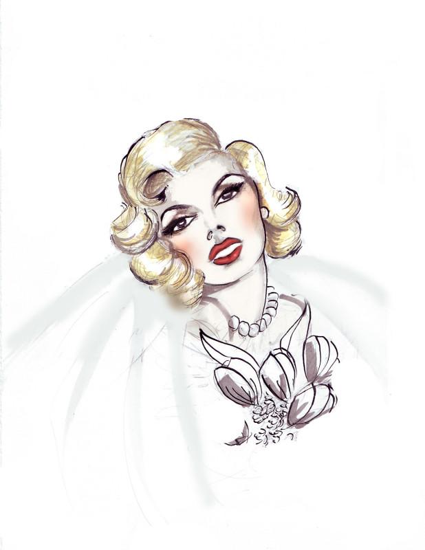 SGR Vintage 1950s Hair & Makeup Design