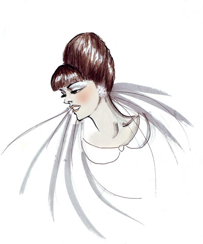 SGR Vintage 1960s Hair & Makeup Design