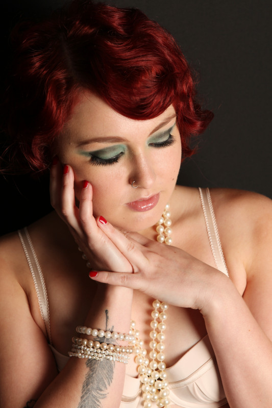 Pin-up Photo Shoot -Hair & Makeup