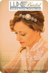 Luxe Bridal Open Day
