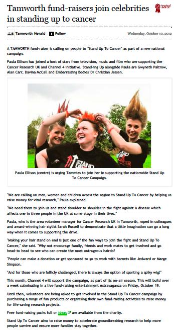 Tamworth Herald Online 10.10.12