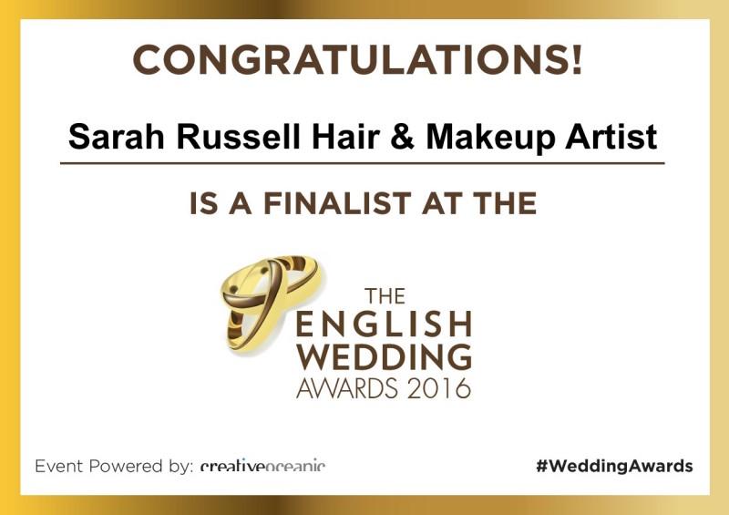 Finalist Poster - English Wedding Awards 2016