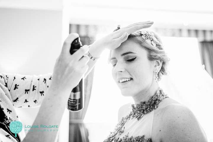 Sarah Russell Hair & Makeup - Laura&Spen Dec 2013