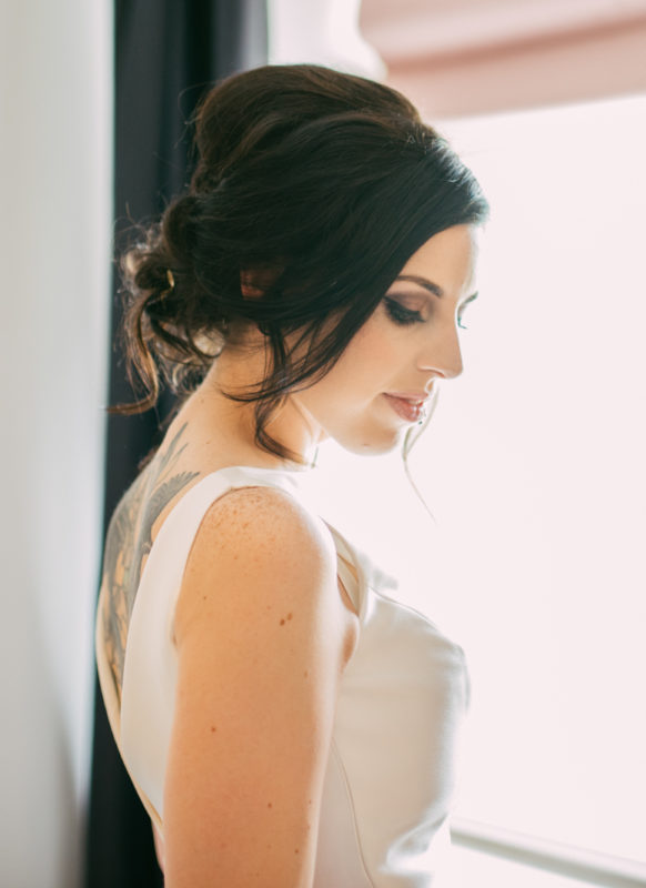smokey bridal makeup west midlands